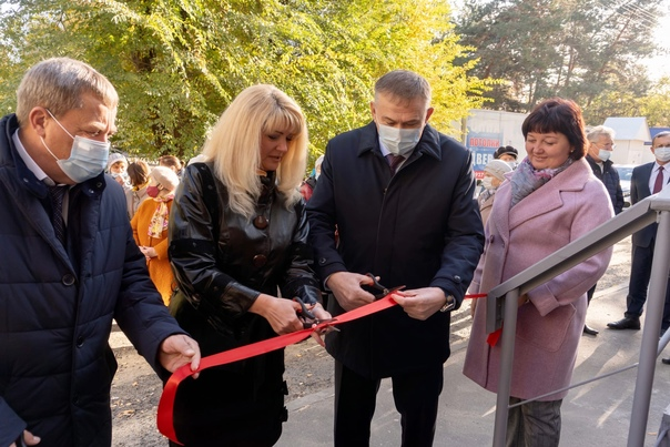 В Юго-западном районе Сызрани открылся обновленный...
