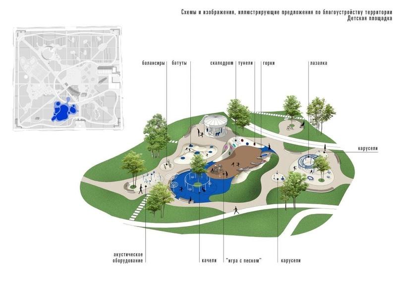 🎡 В ходе реконструкции парка имени Томина высадят 407 деревьев
