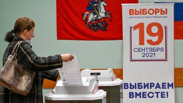 Заходит гражданка в избирательную кабинку. Долго н...