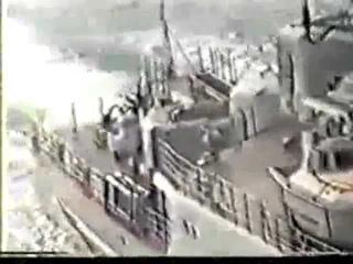Таран боевых кораблей США сторожевиками СССР