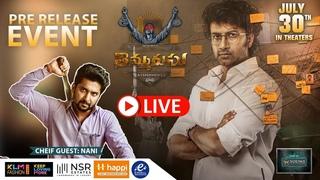 Thimmarusu Pre Release Event LIVE   Nani   Satyadev   Priyanka Jawalkar   YouWe Media