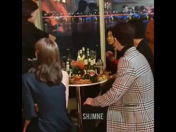 Lisa Suho Lee Soo Hyunk In BVLGARI Private Event