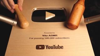 ASMR 99.9% Relaxing Wood Triggers (feat. Wood Play Button)🌳 나~무야호! 팅글이 마구마구 느껴지는 나무소리 모음집