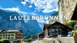 Lauterbrunnen Valley, a little Piece of Heaven in Switzerland. Walk tour   Summer 2021 (Weekend)