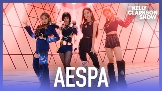 aespa Performs 'Savage' On The Kelly Clarkson Show