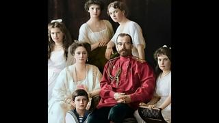 Ожившие через 100-е семья Николая II (портрет) – при помощи нейросети