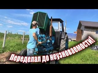 Ремонт старого трактора ЛТЗ Т-40 #сороковка #жизнь_в_деревне