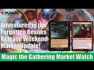 MTG Market Watch: Adventures in the Forgotten Realms Release Weekend Market Update