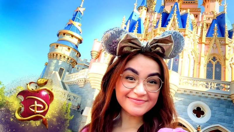 Walt Disney World with Anna Cathcart The Royal Wedding Descendants