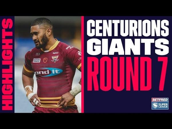 Highlights Leigh Centurions v Huddersfield Giants 2021 Betfred Super League round 7 23 05 2021