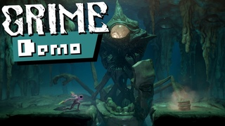 GRIME | Full Demo Gameplay & The First Boss Fight