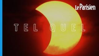 Eclipse solaire : regardez la Lune «grignoter» le Soleil